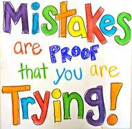 Mag jij fouten maken van jezelf?